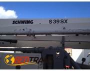 Bomba de hormigón Schwing S 39 mts SX MAN Tga 26360