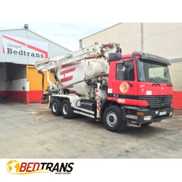 MERCEDES ACTROS concrete pump CIFA MAGNUM 25 with CIFA concrete mixer 8m3