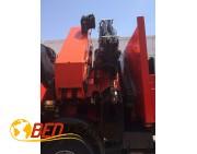 Camión grua pluma IVECO 440 año 2006 PALFINGER 100002+JIB