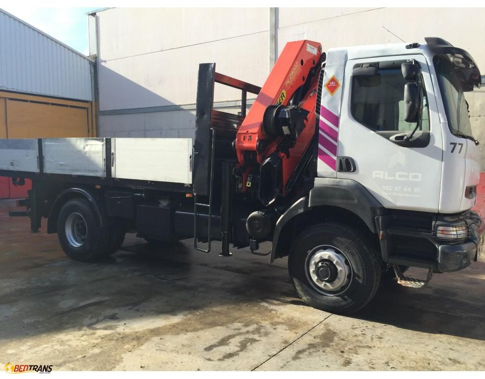 crane truck renault kerax 270 4x4 palfinger pk 29002 spain trucks sales. Black Bedroom Furniture Sets. Home Design Ideas