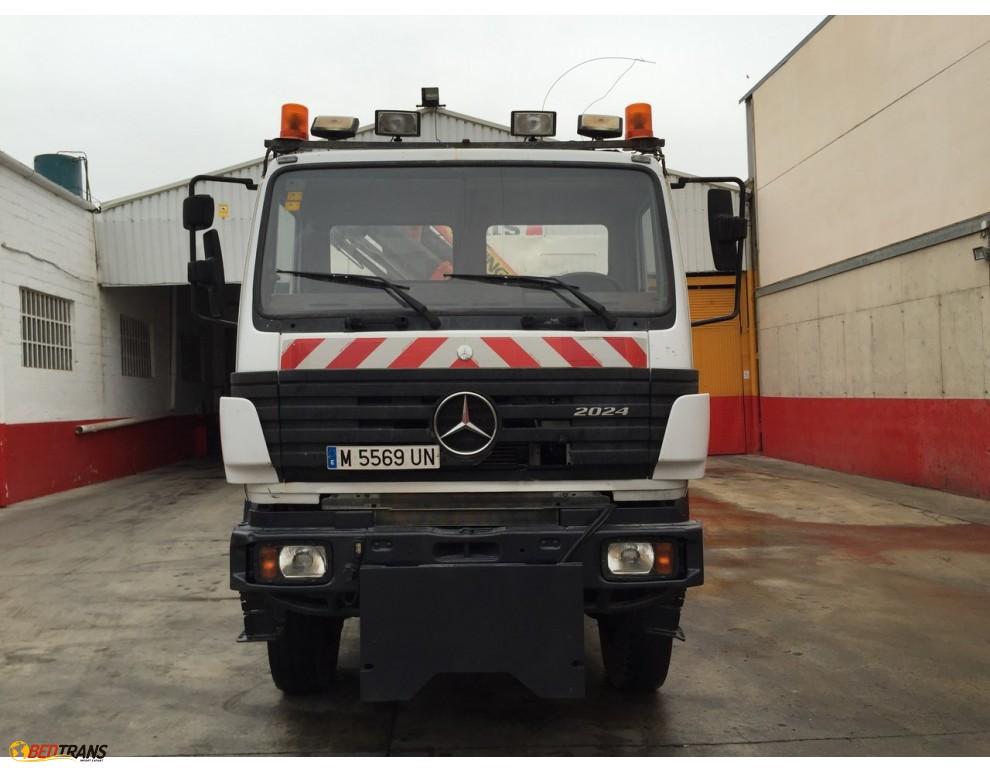 Camion grue palfinger tilt mercedes benz slk 7000 spain for Mercedes benz 7000