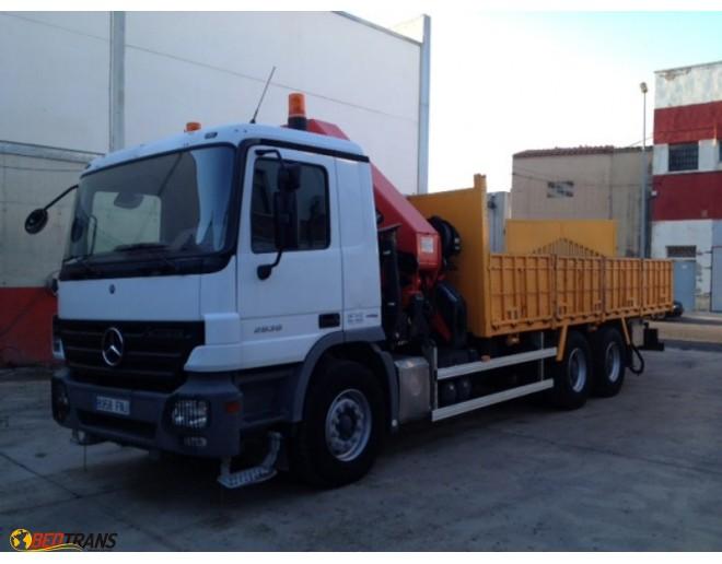 Camión Grúa Palfinger PK44002 Mercedes