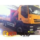 Camión Grúa Fassi 310 axp Iveco Trakker 330
