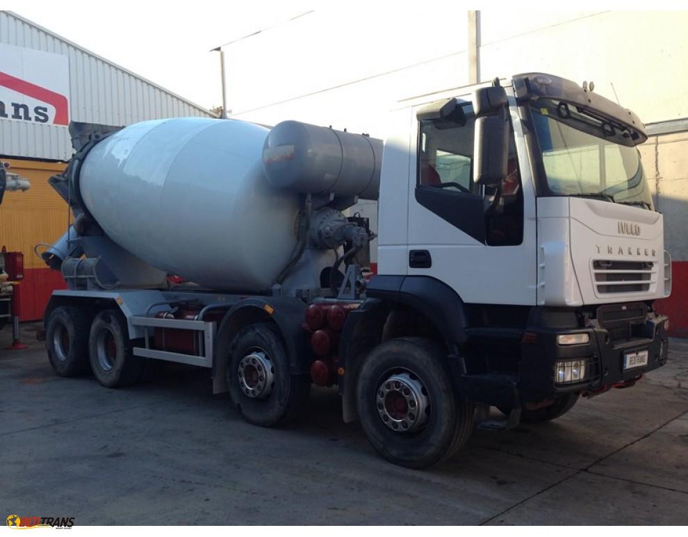 Camión Hormigonera Ocasion 4 Ejes Segundamano España Iveco Trakker Spain Trucks Sales