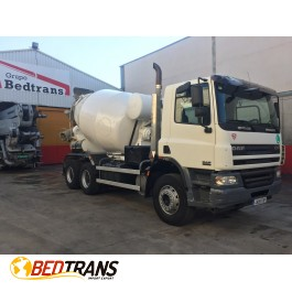 Concrete mixer truck DAF CF 75.310 BARYVAL 8m3