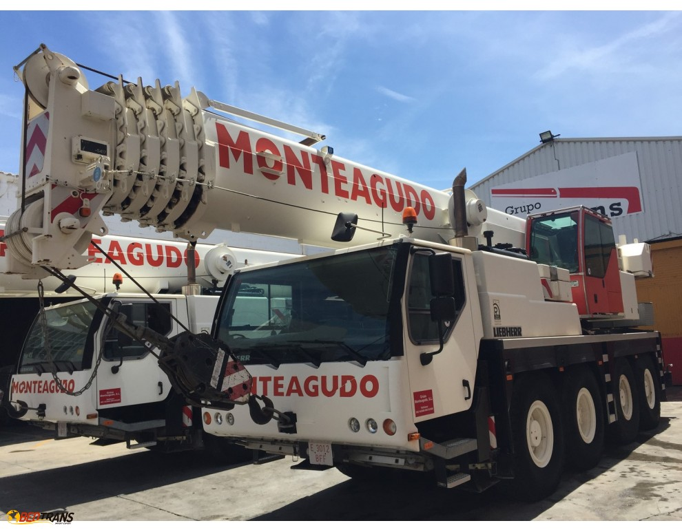 auto cranes for sale liebherr ltm spain europe Spain Trucks